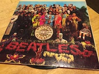 Beatles vinyl album case Centreville, 20121