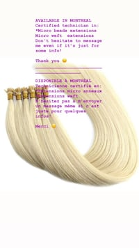 Hair extensions technician  Montreal