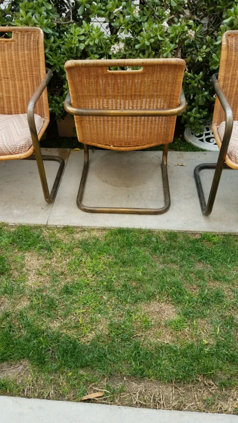 used vintage rattan brass cantilever chairs for sale in los rh us letgo com