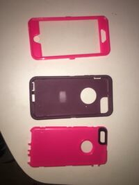 Dark Purple and pink Protective case .  Lake Station, 46405