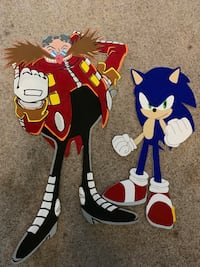 Sonic the Hedgehog and Dr. Eggman Props Shawnee