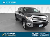 2016 *Toyota* *Tundra* *CrewMax* SR5 Pickup 4D 5 1/2 ft pickup GRAY Brentwood
