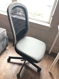 black and gray rolling chair Houston, 77098