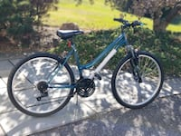 "26"" brand new woman's bicycle 25 km"