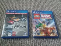 The Crew and Lego Marvel.... for Ps4 Germantown, 20876