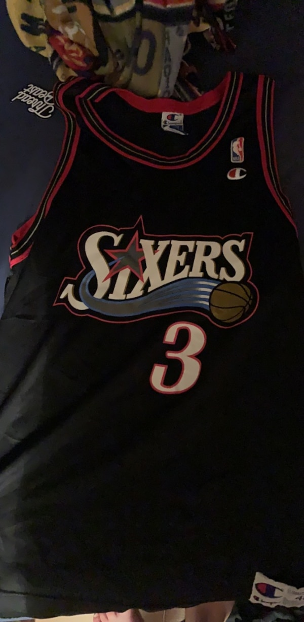 the latest e60e1 d1914 vintage allen iverson jersey
