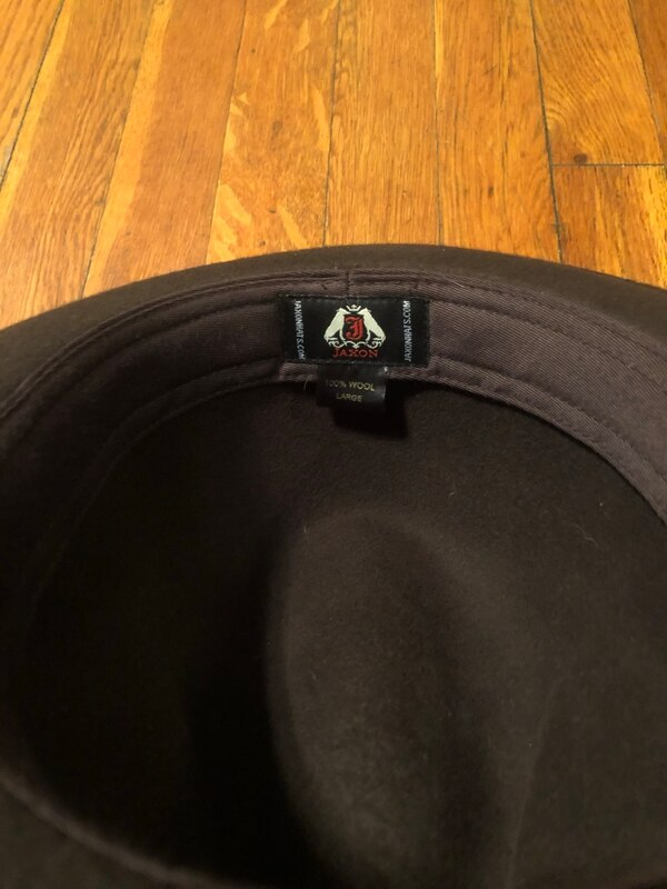 Jaxon hat paid $50 size Large. Excellent condition 100% wool Worn once 0a3f3025-6646-4143-bd15-33d7a890f881