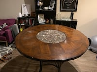 Table with stone lazy susan inset Silver Spring, 20902