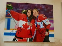 Shannon Szabados & Hayley Wickenheiser Dual Signed 3144 km