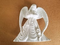 white and gray ceramic angel figurine Elkton, 21921