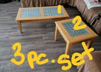 3 PC. Coffee table set Bakersfield, 93309