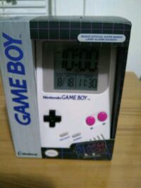 NINTENDO GAME BOY ALARM CLOCK  Cleveland