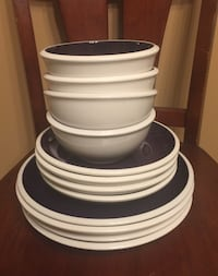 Plate and Bowl set Reston, 20190