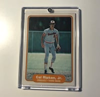 Cal Ripken Rookie card Deer Park, 11729