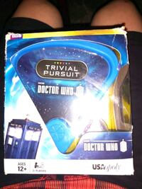 USAopoly Doctor Who Travel Edition Trivial Pursuit Spokane, 99201