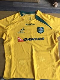 Australia Wallabies Rugby Jersey Medium 43 km
