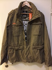 Superdry Rookie military jakke Oslo, 0281