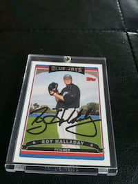 Roy Halladay signed card Brant, N3L 2K5
