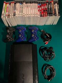 PS3 w Games and Controllers North Andover, 01845