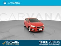 2015 Chevy Chevrolet Sonic sedan LT Hatchback Sedan 4D Red <br