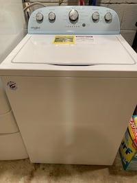 Barely used whirlpool 4.3cf top loading low water washer