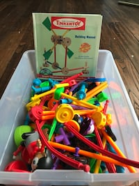 Tinker Toys Multi Set with Building Manual