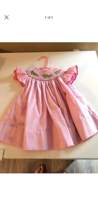 Size 12 Month smock Dress  Independence, 70443