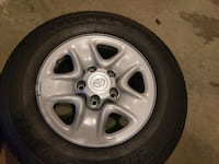 Toyota Tundra factory mounted tires/wheels 255/70/R18 - $1100 DAMASCUS