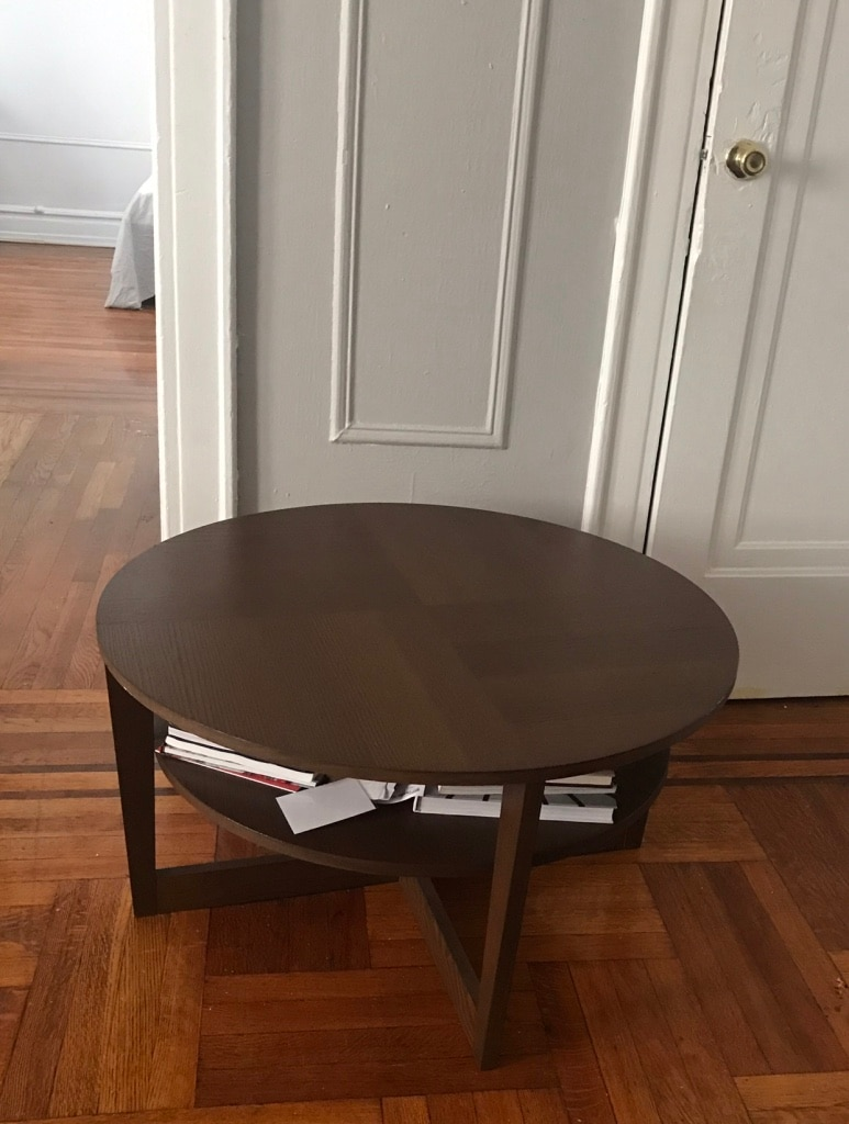 Round 2 Tiered Coffee Table