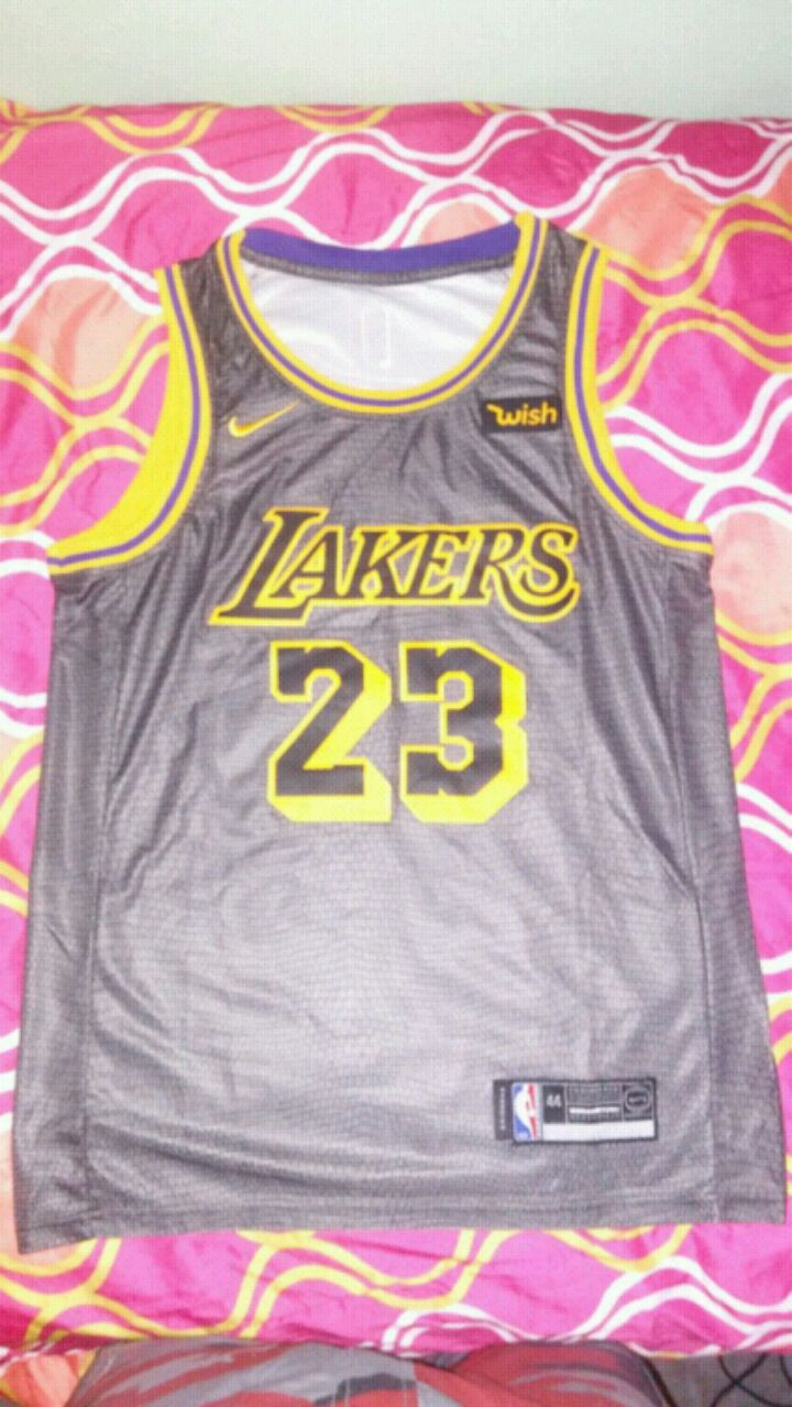 c53fc0ce100 lakers city edition jersey Los ...