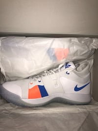 white-and-blue Nike running shoes with box Edmonton, T6L 4P9