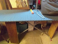 Sturdy landry room tabke from a old ironing board Clarksville, 37042