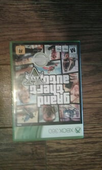 GTA 5 Video Game With Disc And Map Of San Andreas