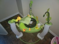 baby's green and white jumperoo Edmonton