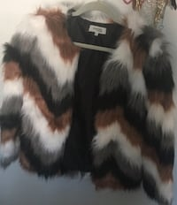 Faux fur from Charlotte Russe. Small size fits loose  Surrey