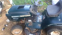 black and blue Craftsman ride on mower Fort Worth, 76105