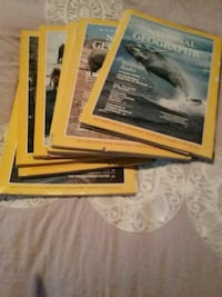 National Geographic Magazines and VHS tapes for sale