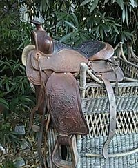 brown leather horse saddle Yountville, 94599