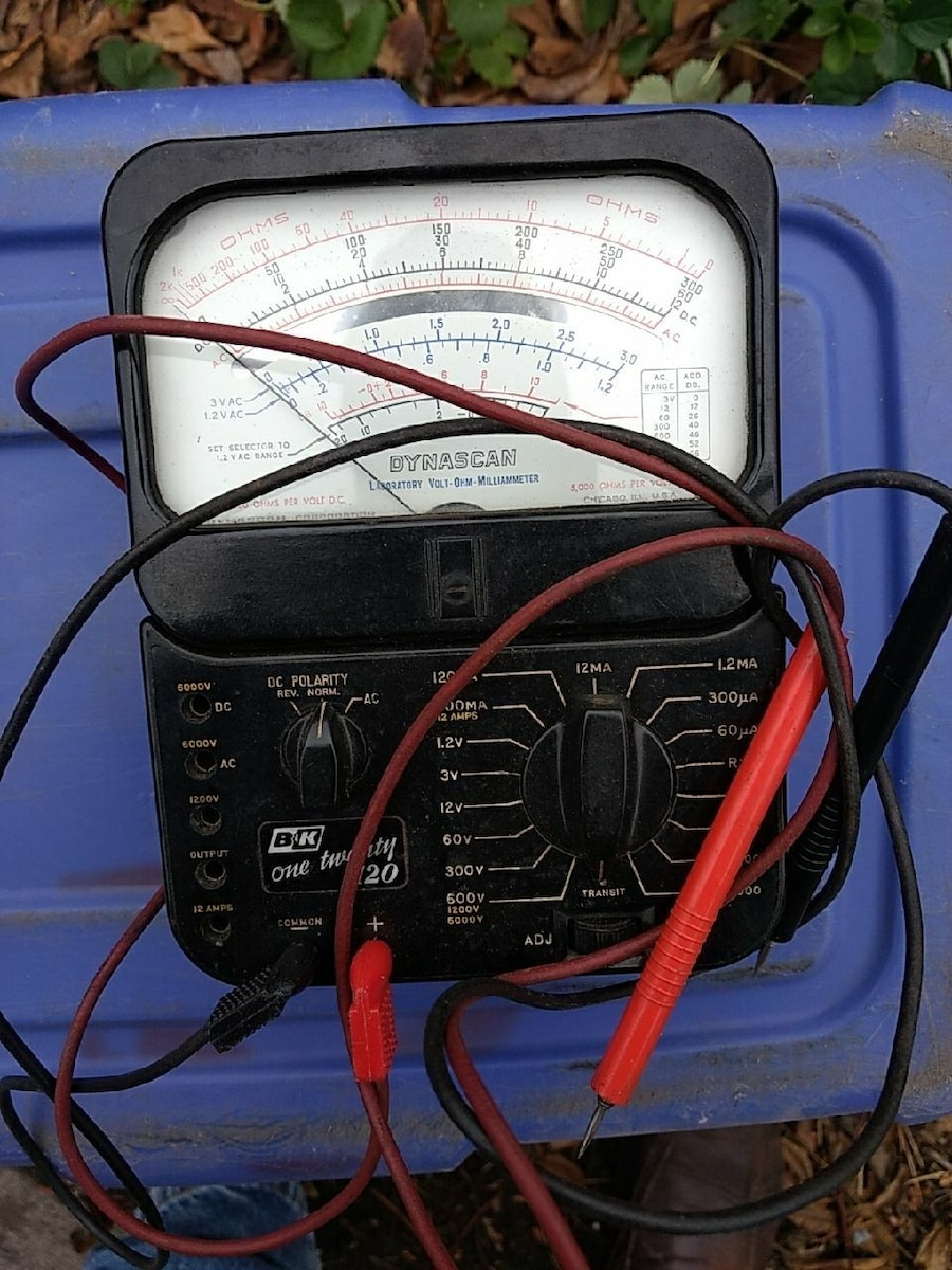 black and red volt tester for sale  Minneapolis