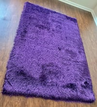 New Shaggy Purple Area Rug Silver Spring, 20902