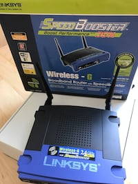 Linksys WRT54GS wireless-G router with super booster Arlington, 22206