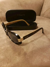 black framed COACH sunglasses with case Manchester, 06040