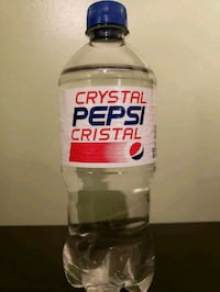 Unopened Bottle of Crystal Pepsi Vaughan, L6A 3E6