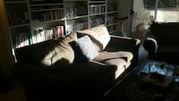 Free light brown couch and matching chair
