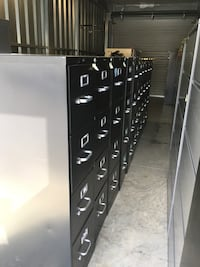 4-Drawer Black FIle Cabinets, REDUCED to $75 Clover, 29710