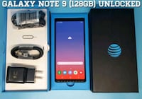 Galaxy Note 9 (128GB) Factory-UNLOCKED (Like-New) Arlington