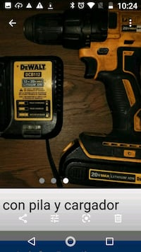 DeWalt drill with battery and charger