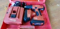 red and black Milwaukee cordless drill Arlington