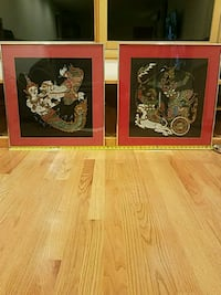 """Picture with Frames 23""""x24"""" WxH Cupertino"""