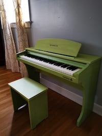 Samick 61 KID Mini Digital piano, Green. Fairfax, 22030